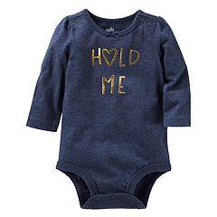 Baby Girl OshKosh B'gosh® 'Hold Me' Bodysuit