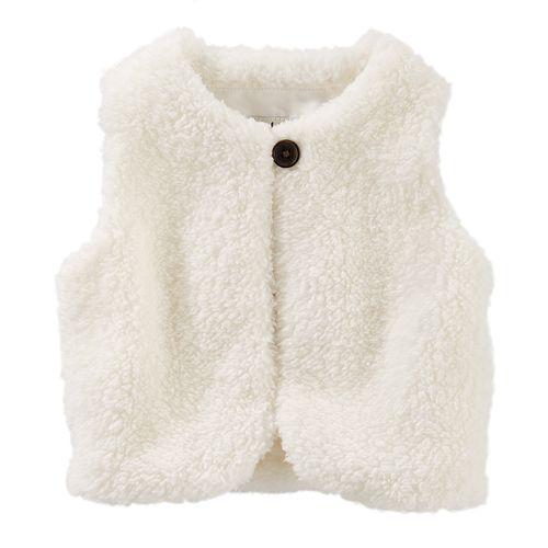 Baby Girl OshKosh B'gosh® Sherpa Vest
