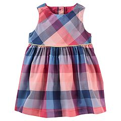 Baby Girl OshKosh B'gosh® Plaid Dress
