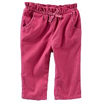 Baby Girl OshKosh B'gosh® Corduroy Pull-On Pants