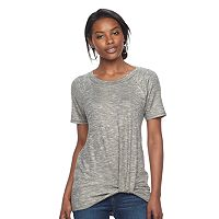 Women's Juicy Couture Marled Twist Tee