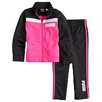 Toddler Girl Puma 2 pc Track Suit Set