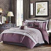 Madison Park 12-piece Harlem Jacquard Comforter Set