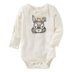 Baby Girl OshKosh B'gosh® Bunny Rabbit Bodysuit