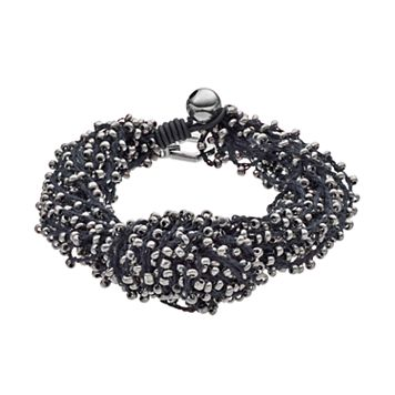 Simply Vera Vera Wang Chunky Seed Bead Bracelet