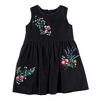 Baby Girl Carter's Embroidered Floral Dress