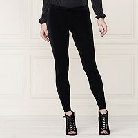 LC Lauren Conrad Runway Collection Velvet Leggings - Women's