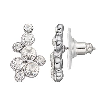 Simply Vera Vera Wang Round Stone Cluster Nickel Free Drop Earrings