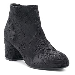 SO® Magazine Women's Velvet Ankle Boots