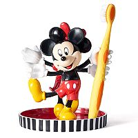 Disney's Mickey & Minnie Mouse Toothbrush Holder