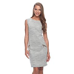 Women's Apt. 9® Zipper Accent Sheath Dress