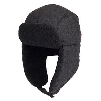 68357588 Men's Levi's® Wool-Blend Sherpa-Lined Trapper Hat