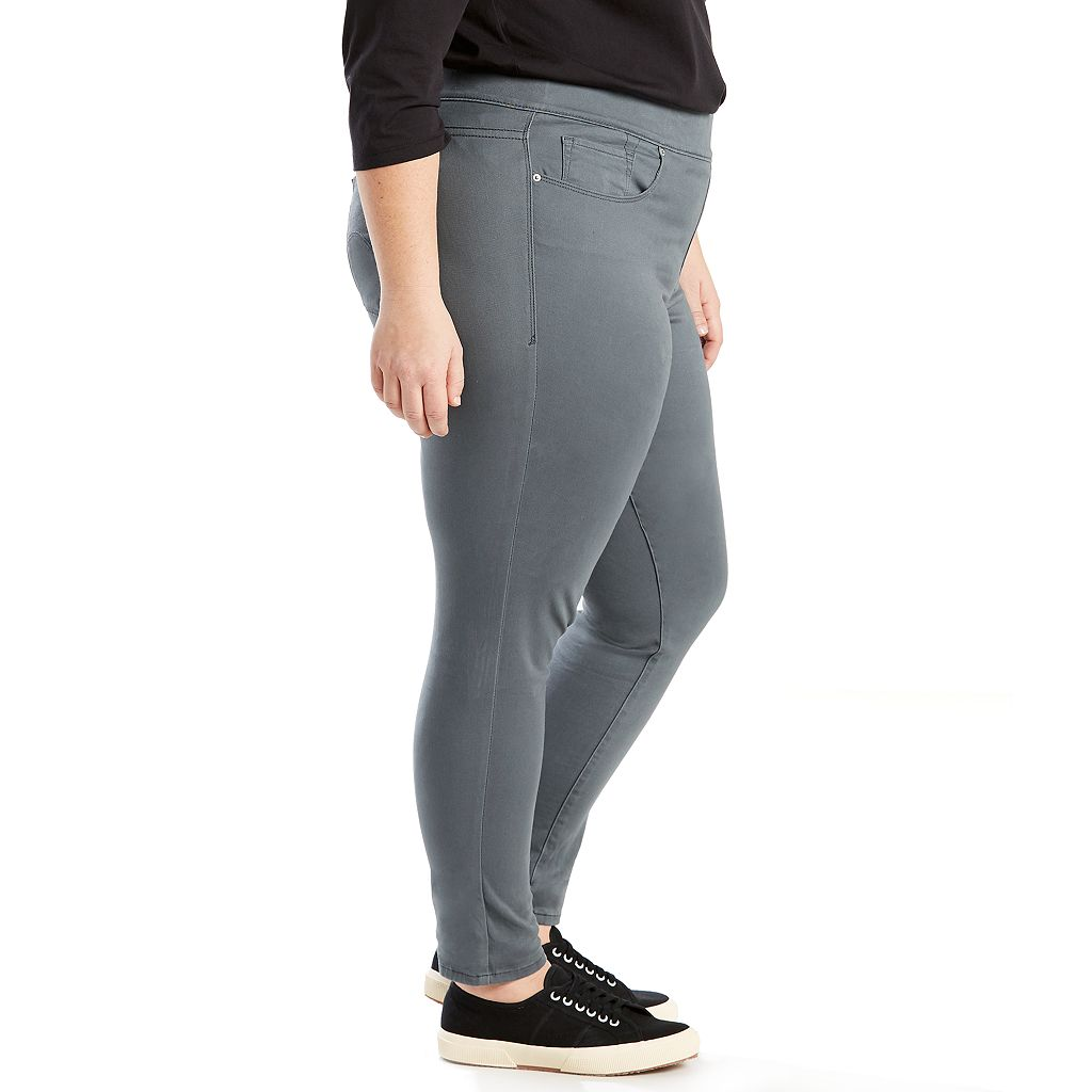 Plus Size Levi's Pull-On Jean Leggings