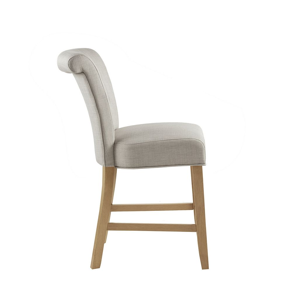 Madison Park Ellison Upholstered Counter Stool