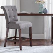 Madison Park Ellison Upholstered Counter Stool