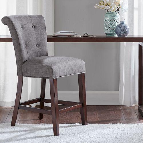 Super Madison Park Ellison Upholstered Counter Stool Ibusinesslaw Wood Chair Design Ideas Ibusinesslaworg