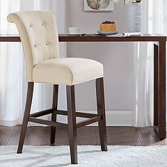 Madison Park Ellison Upholstered Bar Stool