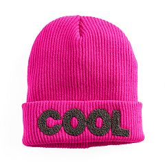 Women's Mudd® Embroidered 'Cool' Beanie
