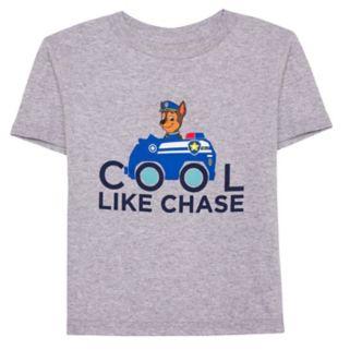 "Toddler Boy Paw Patrol ""Cool Like Chase"" Graphic Tee"