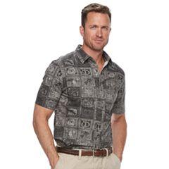 Men's Croft & Barrow® Classic-Fit Stretch Crosshatch Button-Down Shirt