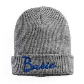 "Women's Mudd® Embroidered ""Basic"" Beanie"