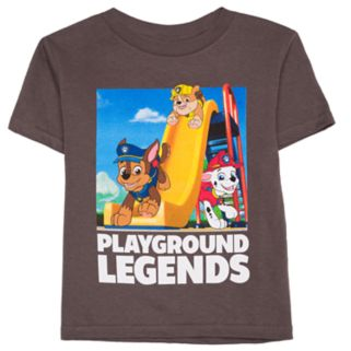 """Toddler Boy Paw Patrol """"Playground Legends"""" Chase, Rubble & Marshall Graphic Tee"""