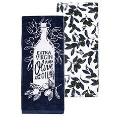 Food Network™ Olive Oil Kitchen Towel 2-pack
