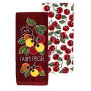 Food Network™ Tomato Kitchen Towel 2-pk.