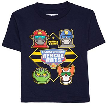 Toddler Boy Transformers Rescue Bots