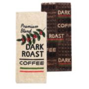 Food Network? Dark Roast Coffee Kitchen Towel 2-pack
