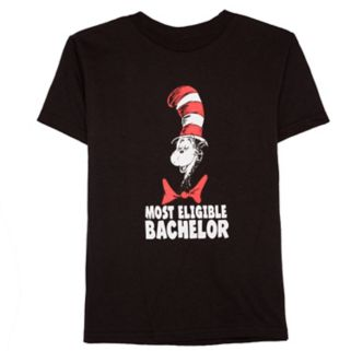 """Toddler Boy Dr. Seuss """"Most Eligible Bachelor"""" Cat in the Hat Graphic Tee"""