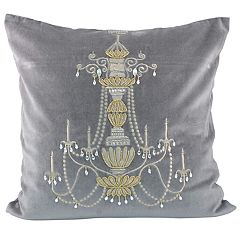 Pomeroy Chandelier Throw Pillow