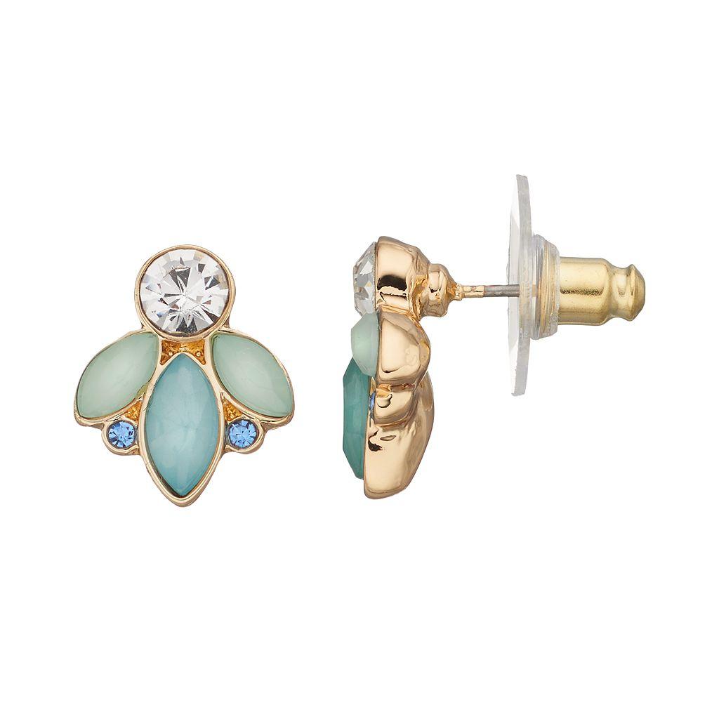 LC Lauren Conrad Marquise Cluster Stud Earrings