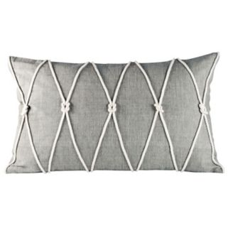 Pomeroy Reef Knot Oblong Throw Pillow