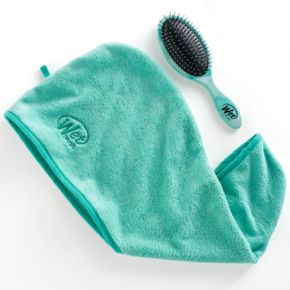 Wet Brush Detangler Hair Brush & Hair Towel Gift Pack