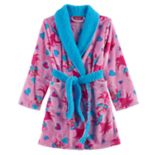 DreamWorks Poppy Girls 4-12 Pattern Plush Robe