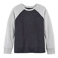 Boys 4-10 Jumping Beans® Raglan Colorblock Thermal Top