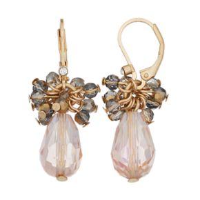 Simply Vera Vera Wang Faceted Bead Cluster Drop Earrings