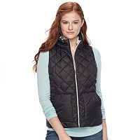 Juniors' SO® Sherpa Lined Puffer Vest