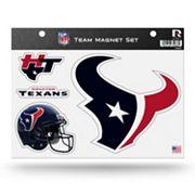Houston Texans Team Magnet Set