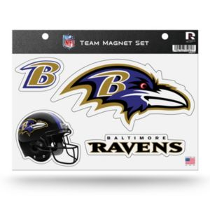 Baltimore Ravens Team Magnet Set