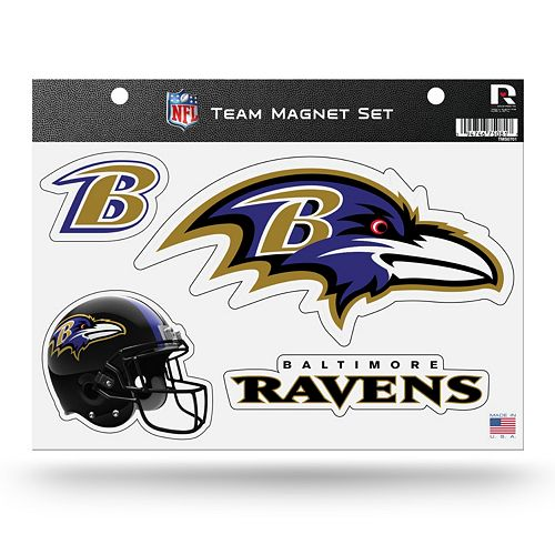 Baltimore Ravens Team Magnet Set