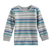 Baby Boy Jumping Beans® Striped Long Sleeve Top