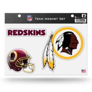Washington Redskins Team Magnet Set