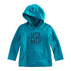 Baby Boy Jumping Beans® Slub Hooded Softest Tee