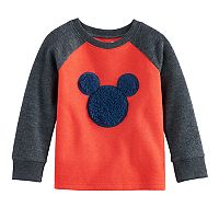 Disney's Mickey Mouse Toddler Boy Sherpa Graphic Raglan Top by Jumping Beans®