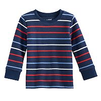 Toddler Boy Jumping Beans® Striped Long Sleeve Top