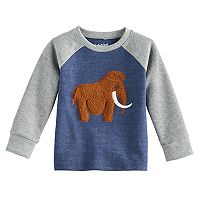 Toddler Boy Jumping Beans® Thermal Raglan Graphic Top