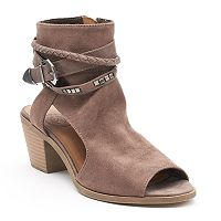 SO® Major Women's Block Heel Ankle Boots