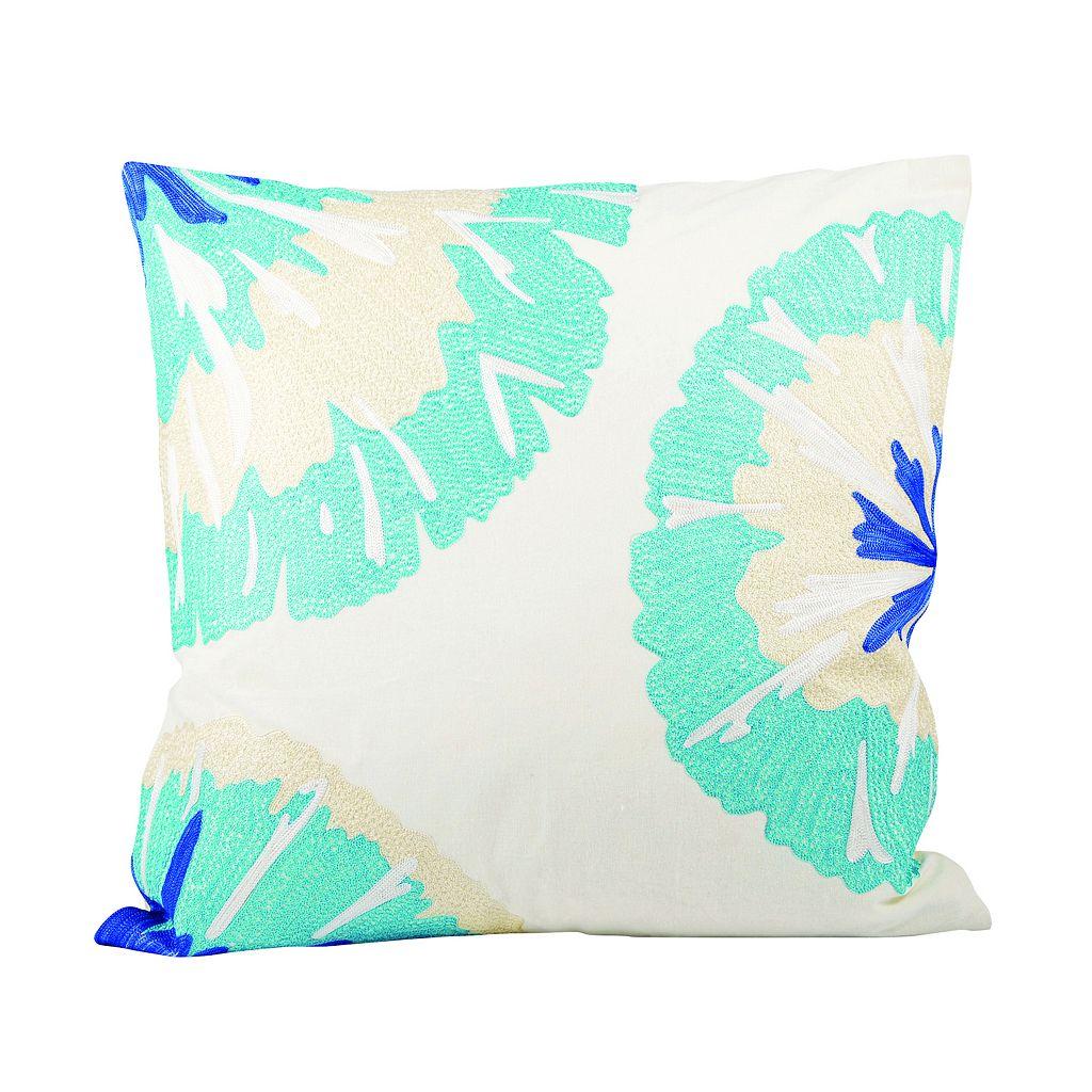 Pomeroy Pacifica Petals Throw Pillow